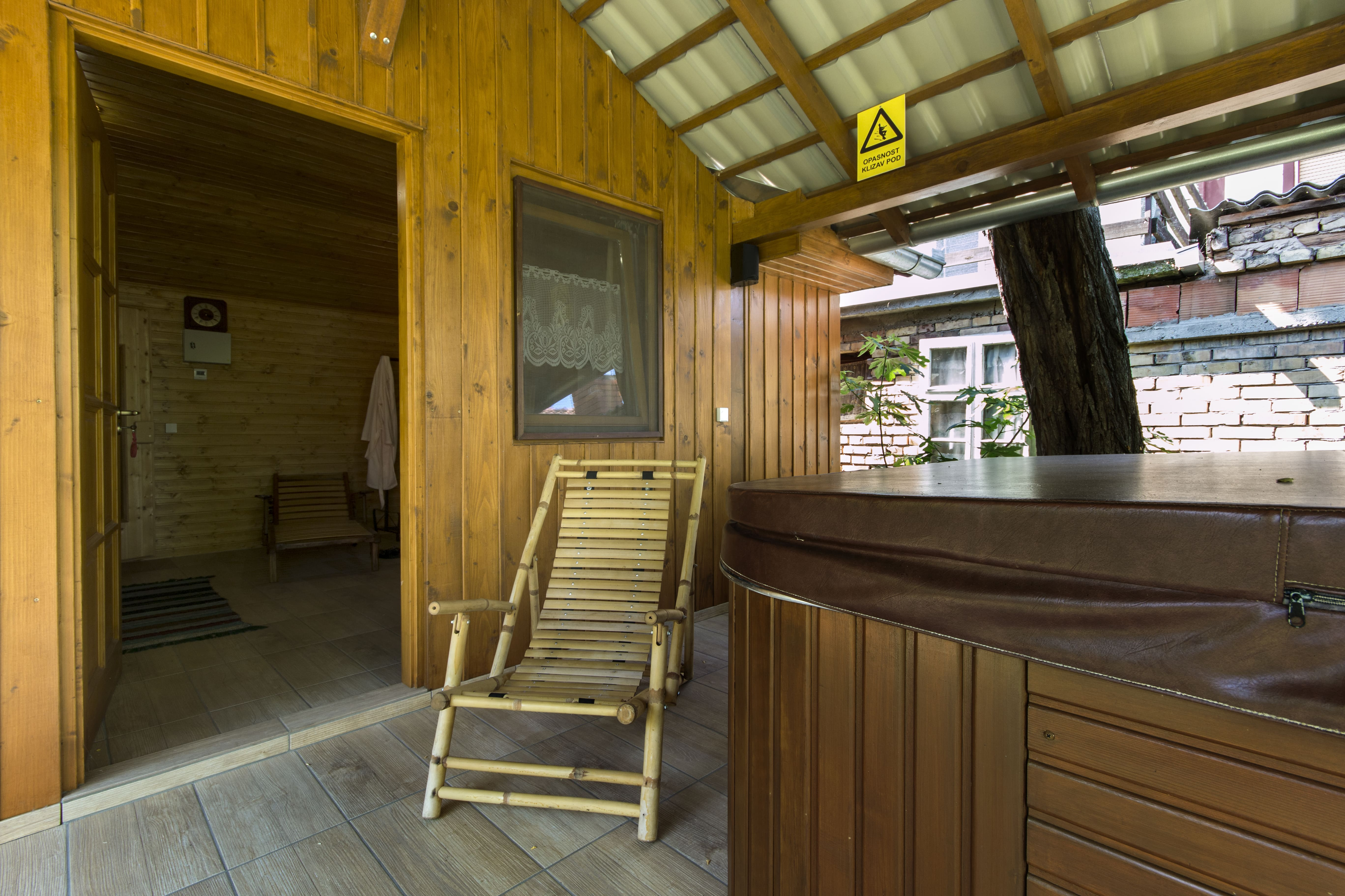 Sauna house and jacuzzi | Anna pansion